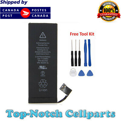 iPhone 5s Battery and Free Tools 616-0718 616-0719 616-0720 616-0721 616-0722