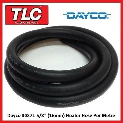"Dayco 80271 Heater Hose 5/8"" / 16mm I.D. Per Metre Cut To Length"