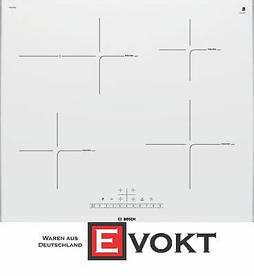 BOSCH PIF672FB1E Induction Hob Ceramic Glass White PowerBoost 7400W Genuine New