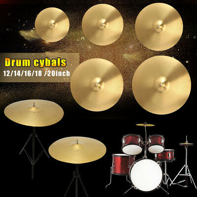 "Size 12"" 14"" 16"" 18"" 20"" Splash/Ride/Crash/Highhat Cymbal Percussion Drum Brass"