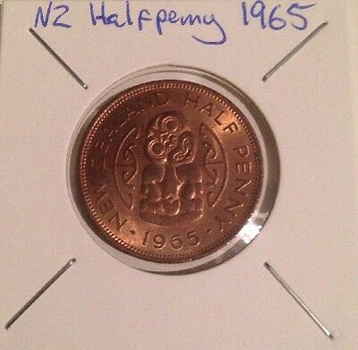 New Zealand 1965 Halfpenny - VG Or Better