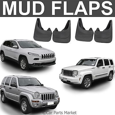 Mud Flaps Splash guard for Jeep Cherokee mudguard set of 4x front and rear