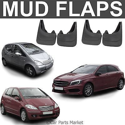 Mud Flaps Splash guard for Mercedes A Class W168 W169 set of 4x front and rear
