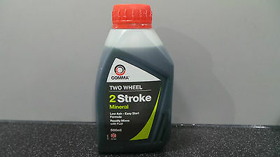 2 Stroke Oil For Motorcycles / Chainsaws / Lawnmowers Low Ash Motorama Hull