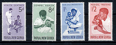 Papua & New Guinea 1964 Health Services Sg57/60  Mnh