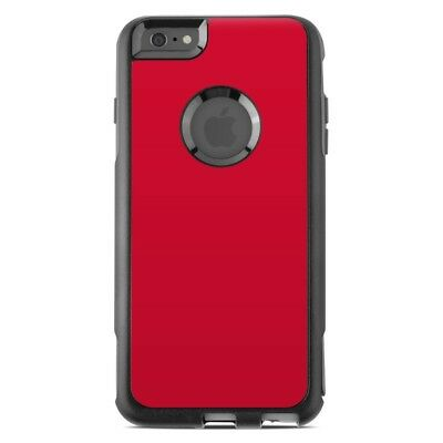 Skin for Otterbox Commuter iPhone 6 Plus - Solid Red - Sticker