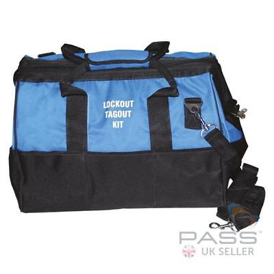 Lockout Tagout Blue Bag - Large