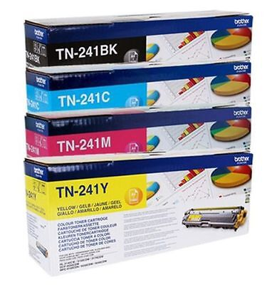 Cheapest Brother Genuine TN241 TN245 Toner Cartridges Singles or Sets Variation