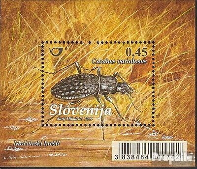 slovenia block44 mint never hinged mnh 2009 Insects