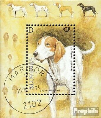 slovenia block24 fine used / cancelled 2005 Autochthone Breeds