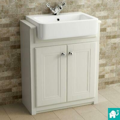 Traditional French Country Style Double Sink Bathroom