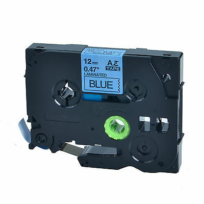 1PK TZe531 TZ531 Black on Blue Label Tape 12mm 1/2'' For Brother P-touch PT-310B
