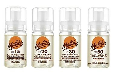 Malibu Hair Care Scalp Head Protector For All Hair Types Water Resistant 50ml