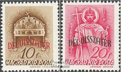 Hungary 655-656 mint never hinged mnh 1941 reintegration