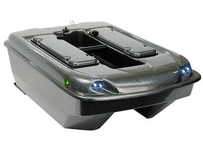"Carp Madness Futterboot ""XXL 2,4 Ghz"" komplettes Carbon Baitboat Set"