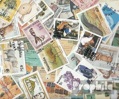Southwest 25 different stamps  South-West-Africa/Namibia
