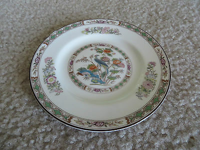 "Wedgwood Kutani Crane 6"" Bread & Butter Plate Bone China R4464 EUC"