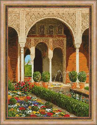 """Counted Cross Stitch Kit RIOLIS - """"The Palace Garden"""""""