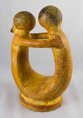 Pottery figures - hand made in Mexico.  Fairly traded.