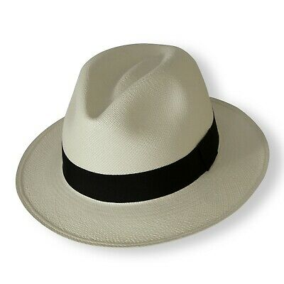 Tumia Fairly Traded Genuine Panama Hat from Ecuador - Hand Woven - Rolling