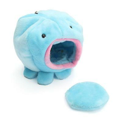 Octopus Shape Ferret Rabbit Rat Hamster Squirrel Bed Toy Home Soft Cage Blue