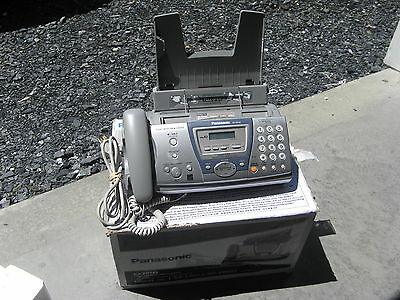 Panasonic KX-FP145 Slim-Design Fax Machine with Answering System ORIGINAL BOX