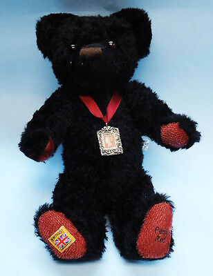 Rare Limited Edition mohair MerryThought Penny Red Bear - New In Box