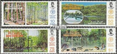 Brunei 303-306 mint never hinged mnh 1984 Forestry