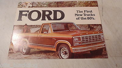 1981 Ford Pickup  Brochure,canadian Edition