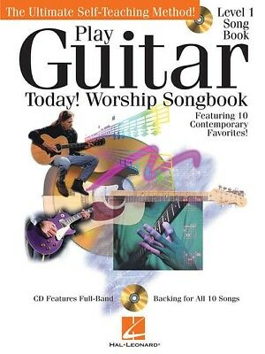 Play Guitar Today! - Worship Songbook Tab Sheet Music Song Book W/Cd