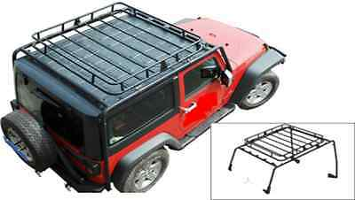 HEAVY DUTY JAMBOREE ROOF RACK for JEEP WRANGLER JK 2007-2015 2-DOOR