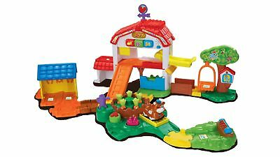 VTech Toot Toot Animals Farm Playset with SmartPoints, Interactive Lift