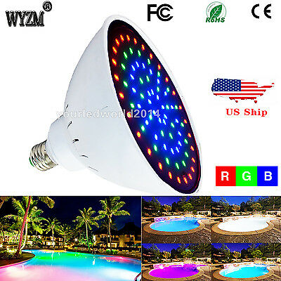 12V/35W Color Change Swimming Pool LED Light Replacement 300W Incandescent Bulb