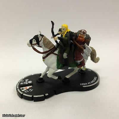 Legolas and Gimli with pog Heroclix 31 The Two Towers Miniature CMG