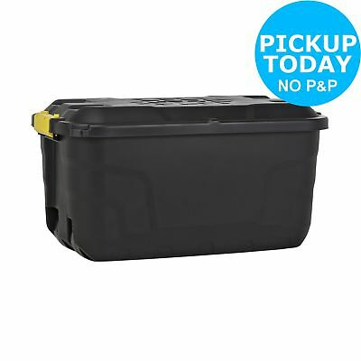 Argos Home Heavy Duty Recyclable Stackable Storage Trunk 75 Litre