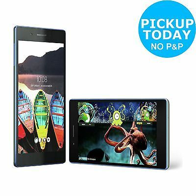 Lenovo Tab 3 A7 7 Inch 1.3GHz 1GB 8GB Android 1.3 Tablet - Black-From Argos ebay