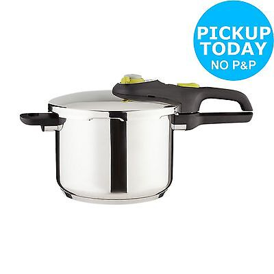 Tefal 6 Litre Stainless Steel Pressure Cooker -From the Argos Shop on ebay