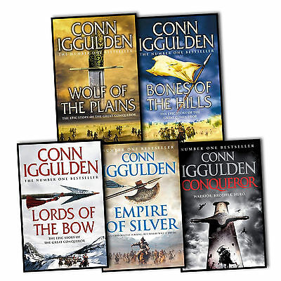Conn Iggulden Conqueror 5 Books Collection Set