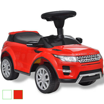 New Land Rover 348 Kids Ride-on Car with Music Red / White Foot Pedal Battery