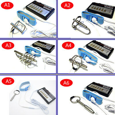 Urethral Electro Shock Sounding Stretcher  Stainless Steel DIY A243 A