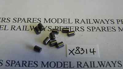 Hornby X8314 Carbon Brushes Multi (Pk 10) Ringfield & Dapol Motor