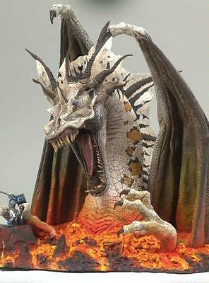 Mcfarlane's Dragons Series 5 Fall Of Dragon Kingdom Fire Deluxe Action Figure