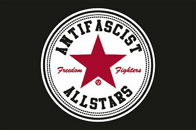 Antifascist Allstars Flagge
