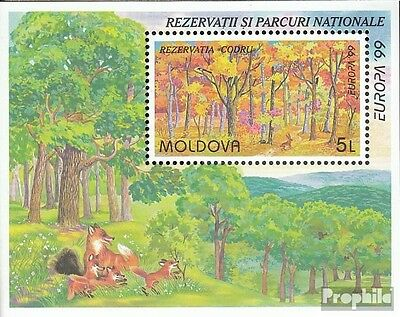 Moldawien block18 mint never hinged mnh 1999 National