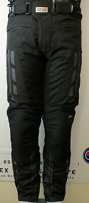 RST New Paragon 5 V Pro Series Waterproof Textile Trousers Black 1417 2417