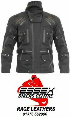 RST New Paragon 5 V Pro Series Waterproof Textile Jacket Black 1416 2416