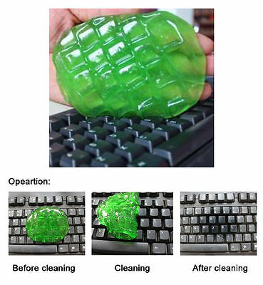 Soft Clay Gel Keyboard Cleaner, Laptop, Car, Dust Remover. Gum Cleaning Compound