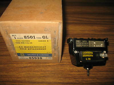 Square D 8501 Gl Ser. A Ac Mechanically Held Latch Attachment For Relay