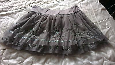 Stunning M&S Autograph grey seqinned skirt 14 years
