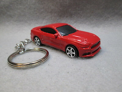 2015 '15 FORD MUSTANG  GT (red)  CUSTOM KEYCHAIN RING FOB